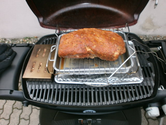 Pulled Pork Im Gasgrill Rezept : Pull pork auf dem gasgrill