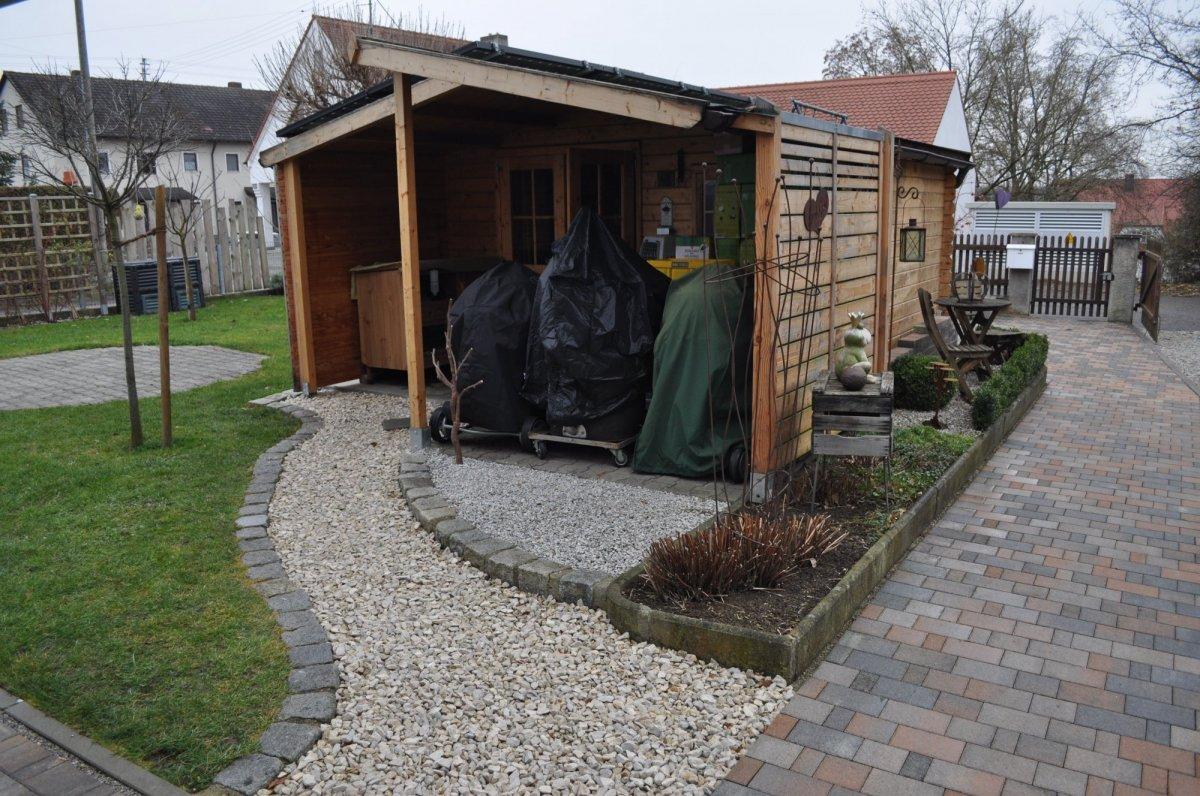 Outdoor Küche Gartenhaus : Anbau outdoorküche an gartenhaus